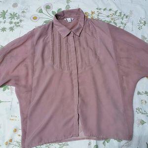 Pink Volcom Blouse